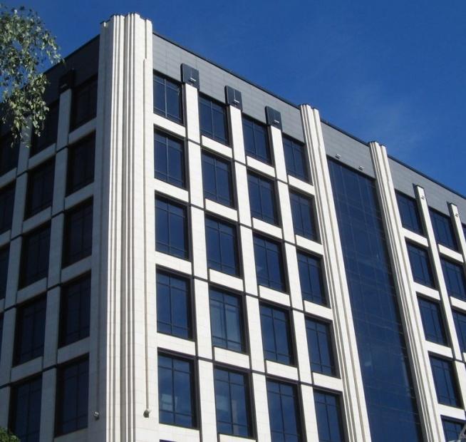 Проект бизнес-центра с коллекциями Frontek