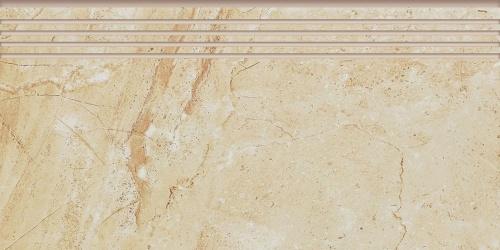 Ступень керамическая Kerranova Genesis Beige/Бежевый K-101/SR/ST01 Structure 29,4x60