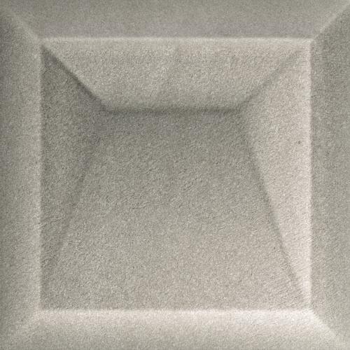 Керамическая плитка для стен Baldocer Akan Solid Grey 25x25