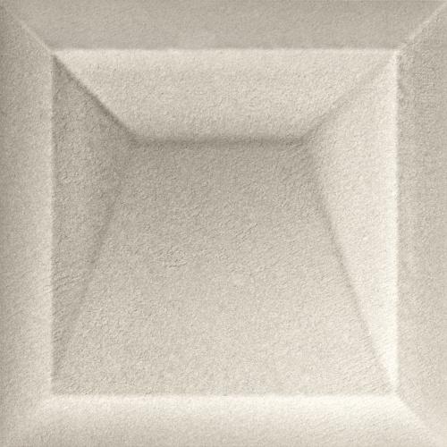 Керамическая плитка для стен Baldocer Akan Solid Pearl 25x25