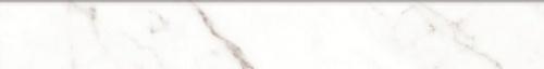Плинтус керамический Kerranova Black&White White/Белый K-60/LR/p01 Lapatto 7,6x60
