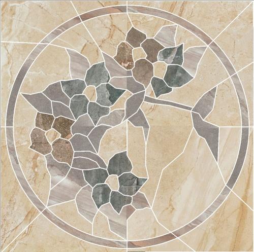 Декор напольный Kerranova Genesis Decor Cut Beige/Бежевый K-101/SR/d02 Structure 60x60