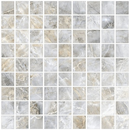 Мозаика керамическая Kerranova Canyon Grey/Серый  K-905/LR/m01 Lapatto 30x30