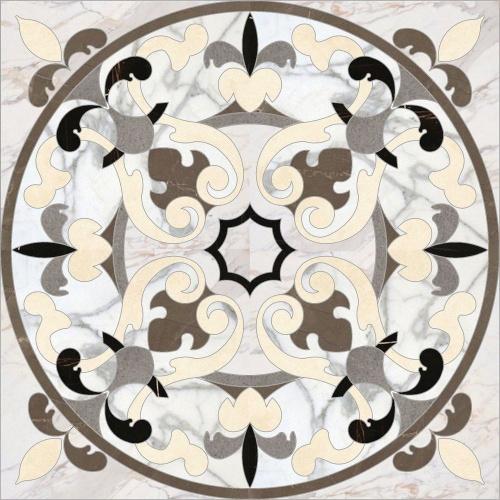 Декор напольный Kerranova Pulpis Brown/Коричневый K-1002/LR/d03 Cut 120x120