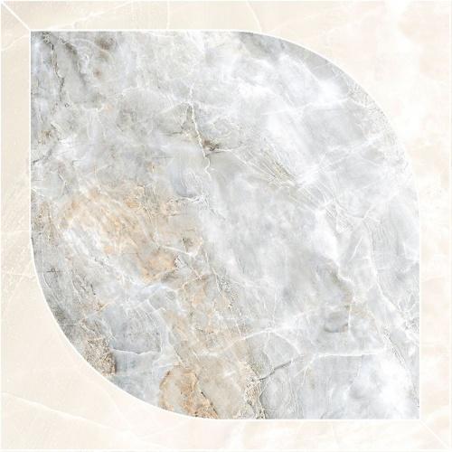 Декор напольный Kerranova Canyon Decor Сut Grey/Серый K-905/LR/d04 Lapatto 60x60
