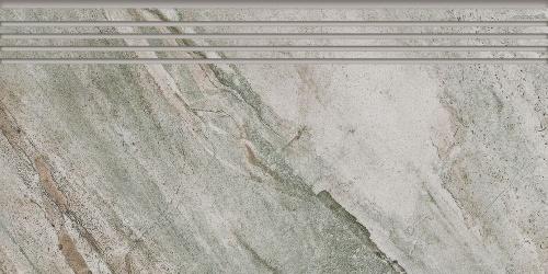 Ступень керамическая Kerranova Genesis Grey/Серый K-103/SR/ST01 Structure 29,4x60