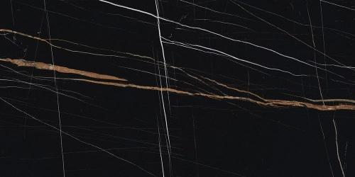 Керамогранит Kerranova Nero Dorato Black/Черный K-1004/МR Full Body 60x120