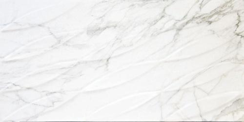 Декор напольный Kerranova Carrara White/Белый K-1000/MR/d01 Full Body Matt 30x60