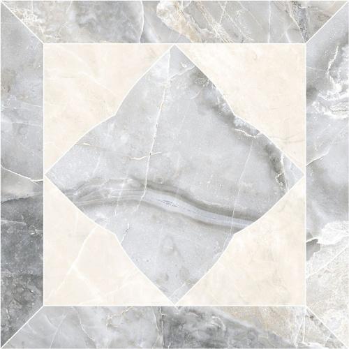 Декор напольный Kerranova Canyon Cut Grey/Серый K-905/LR/t01 Lapatto 20x20