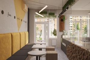Проект кафе с коллекцией Kerranova Terrazzo_1