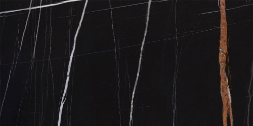 Керамогранит Kerranova Nero Dorato Black/Черный K-1004/SСR Full Body Sugar Structure 30x60