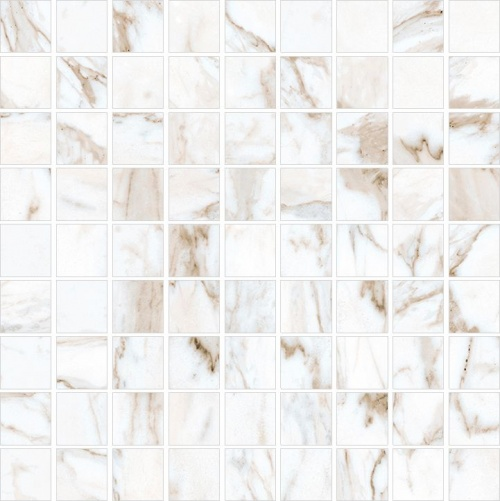 Мозаика керамическая Kerranova Calacatta Gold K-1001/LR/m01 Full Body Lappato 30x30