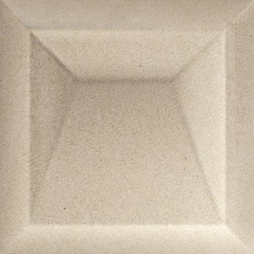Керамическая плитка для стен Baldocer Akan Solid Caramel 25x25