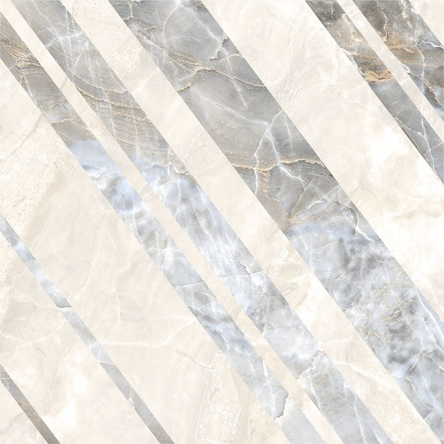 Декор напольный Kerranova Canyon Decor Print Grey/Серый K-905/LR/d01 Lapatto 60x60