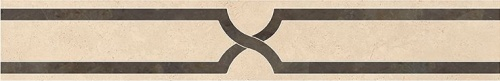 Декор напольный Kerranova Crema Marfil Beige/Бежевый K-1003/LR/f02 10x60
