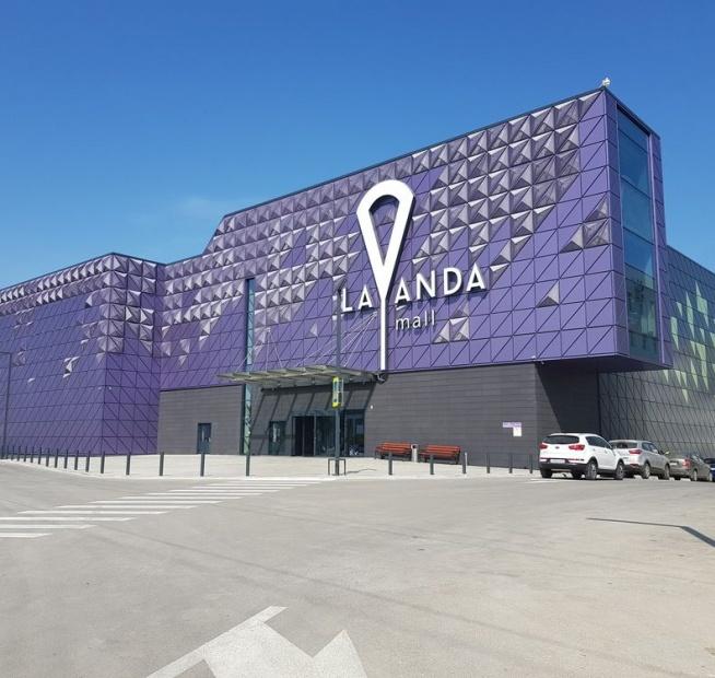 "Проект ТЦ ""LAVANDA mall"" с коллекциями Frontek"