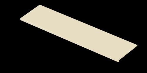 Ступень керамическая Venatto Blanco Perla Peldano 32x120