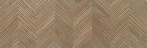Керамическая плитка для стен Baldocer Larchwood Zig Ipe Rectificado 40x120