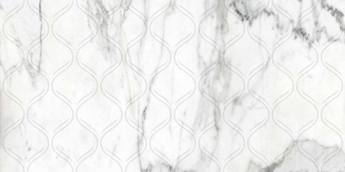 Декор напольный Kerranova Calacatta Gold White/Белый K-1001/MR/d01 Full Body Matt 30x60