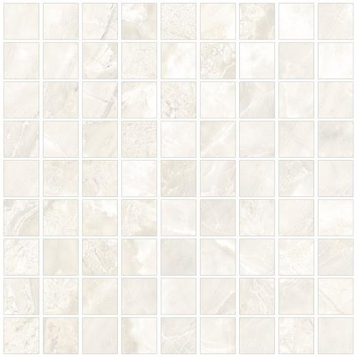 Мозаика керамическая Kerranova Canyon White/Белый  K-900/LR/m01 Lapatto 30x30