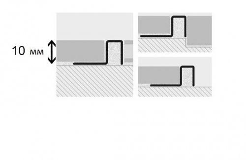 Профиль латунный Progress Profiles Profinal Сromato хромированный 8x10x2700