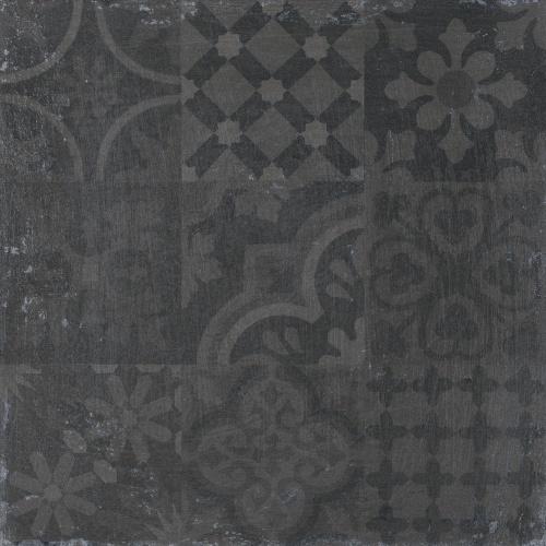 Керамогранит Roca Claque Hidraulico Negro 61,5x61,5