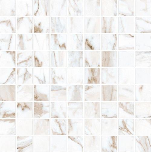Мозаика керамическая Kerranova Calacatta Gold K-1001/MR/m01 Full Body Matt 30x30