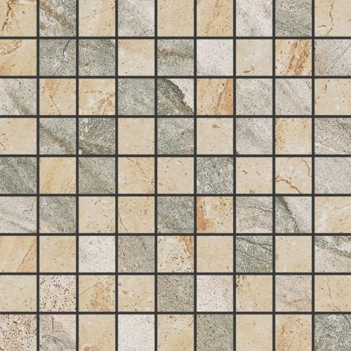 Мозаика керамическая Kerranova Genesis Beige/Grey K-101(103)/SR/m01 Structure 30x30